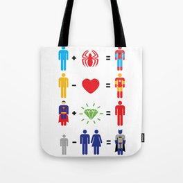 Super Math Tote Bag