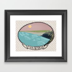 Perranporth Framed Art Print