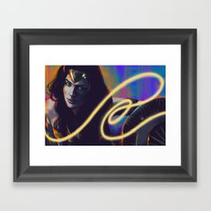 WW Framed Art Print