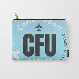 CFU Corfu airport Carry-All Pouch
