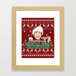 Have yourself a merry Griswold Family christmas Framed Art Print