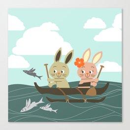 RIA - Canoe Canvas Print