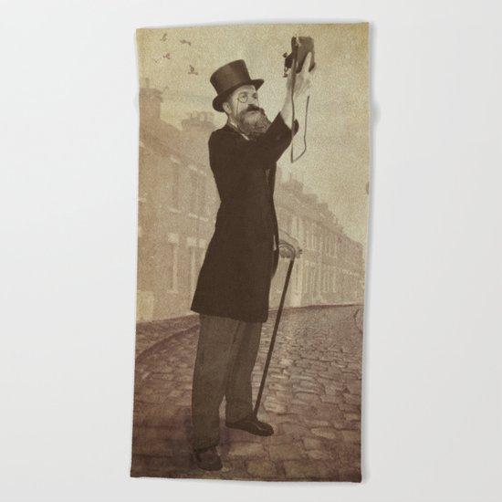 Vintage Selfie Beach Towel