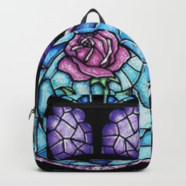 Cathedral Rosette Stained Glass Backpack