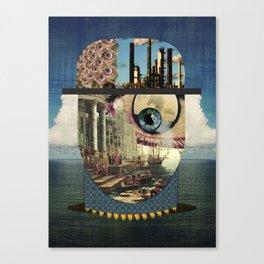 Waveman Canvas Print