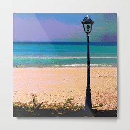 Beachlamp Metal Print