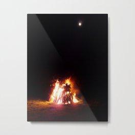 Bonfire Night Metal Print