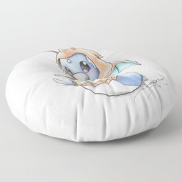 A 'Tini Ambition to Soar Floor Pillow