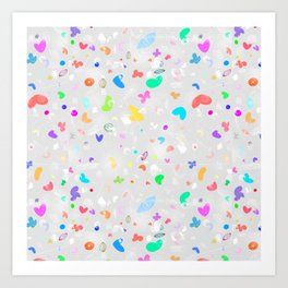 DOODLE ABSTRACTO Art Print