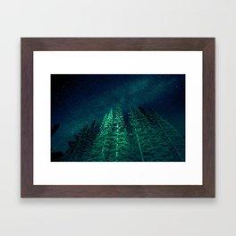 Star Signal - Nature Photography Framed Art Print