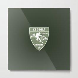 Ski Eldora Colorado Metal Print