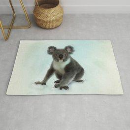 Koala Bear Digital Art Rug