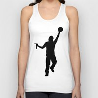 jay z Tank Tops featuring #TheJumpmanSeries, Jay Z by @thepeteyrich