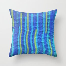 Summer by the Pool Throw Pillow
