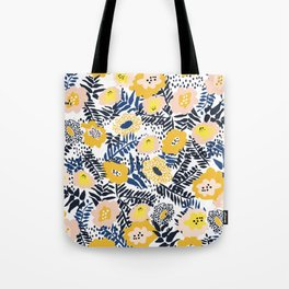 Happy life and fresh design: Summer greetings Tote Bag