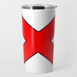Saint andrew's cross 1- Travel Mug
