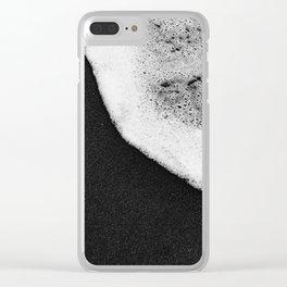 Black Sand / Landscape Photography Clear iPhone Case