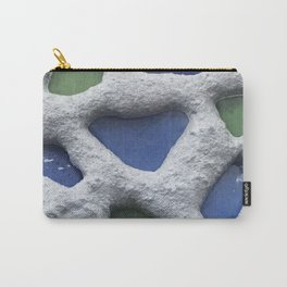 Sea Glass Mosaic Detail Carry-All Pouch