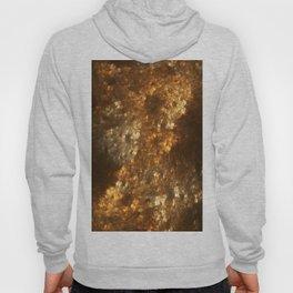 Fractal Art - Gold mine Hoody