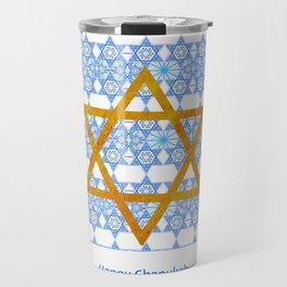 Happy Chanukah! Travel Mug