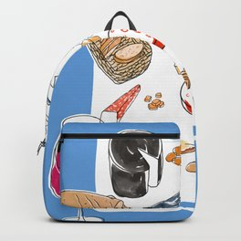 Cheese plate Backpack