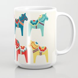 Swedish Horses Coffee Mug
