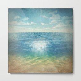 Insta Beach Metal Print