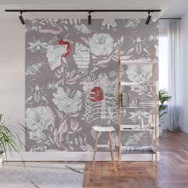 Switching places Wall Mural