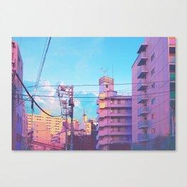 Pastel City Canvas Print