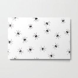Creepy Spiders Metal Print