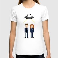 mulder T-shirts featuring Mulder & Scully by Evelyn Gonzalez