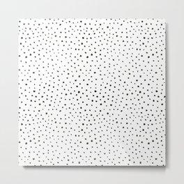 dalmatian print Metal Print