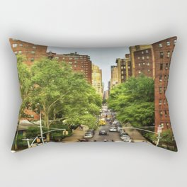 10th Ave and W 26th St New York City Rectangular Pillow