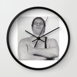André René Roussimoff (Andre the Giant) Wall Clock
