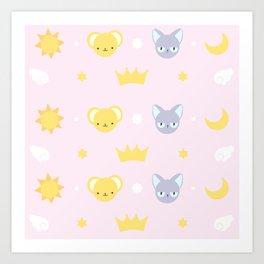 cardcaptor sakura cute pink Art Print