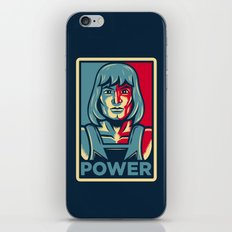 Power....he has it! iPhone & iPod Skin