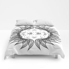 Symmetrical Sun Comforters