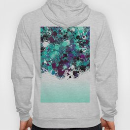 paint splatter on gradient pattern bbtpb Hoody