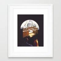 labyrinth Framed Art Prints featuring labyrinth by Mirawek Wolff