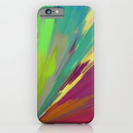 color wheel 01 iPhone Case