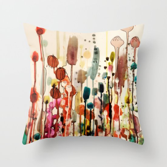 Ouvrir une fenetre throw pillow by sylvie demers society6 for Ouvrir la fenetre
