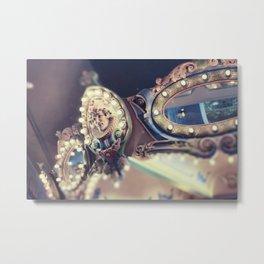 Dreamy Carousel Metal Print