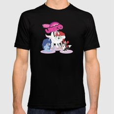 My Little Unico MEDIUM Mens Fitted Tee Black