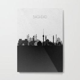 City Skylines: Baghdad Metal Print