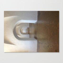Receding Arches Canvas Print
