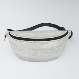White Gray Marble Fanny Pack