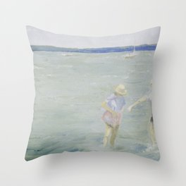 SANDY COVE Throw Pillow
