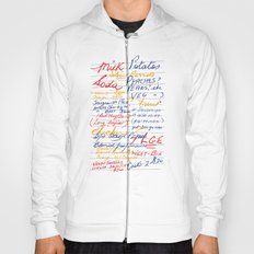 Grandmother's Shopping List Hoody