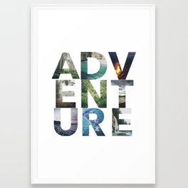 Adventure! Framed Art Print