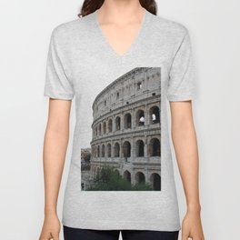 Colosseo Unisex V-Neck